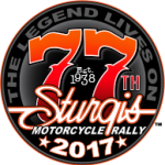 Official 77th Sturgis Motor Cycle Rally logo
