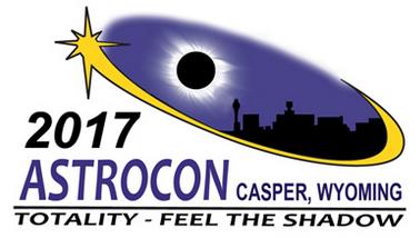 2017 Astrocon Logo, taking place in Casper on August 16