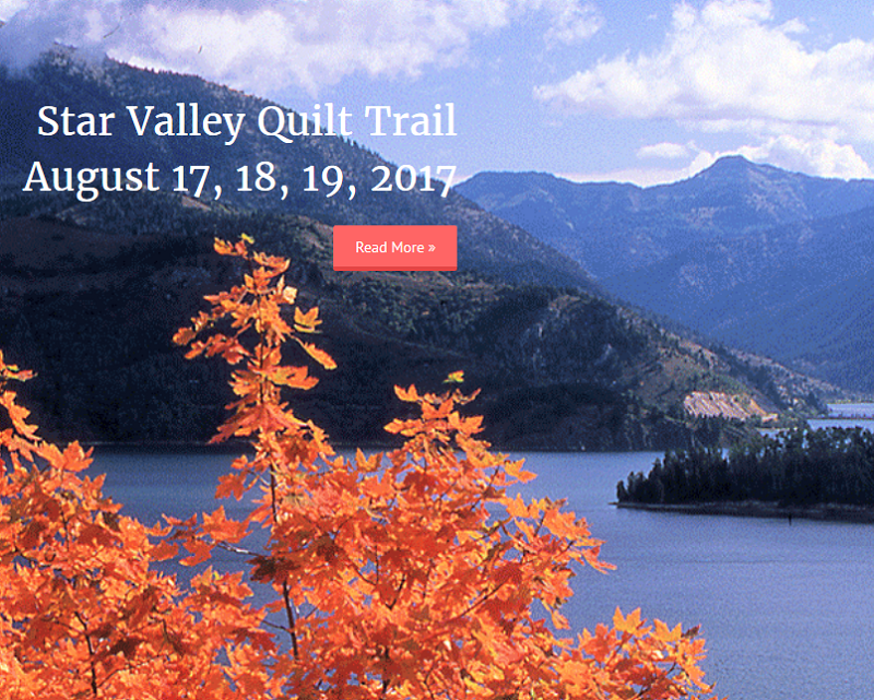 Star Valley Quilt Trail - website thumbnail