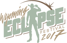 Wyoming Eclipse Festival official logo