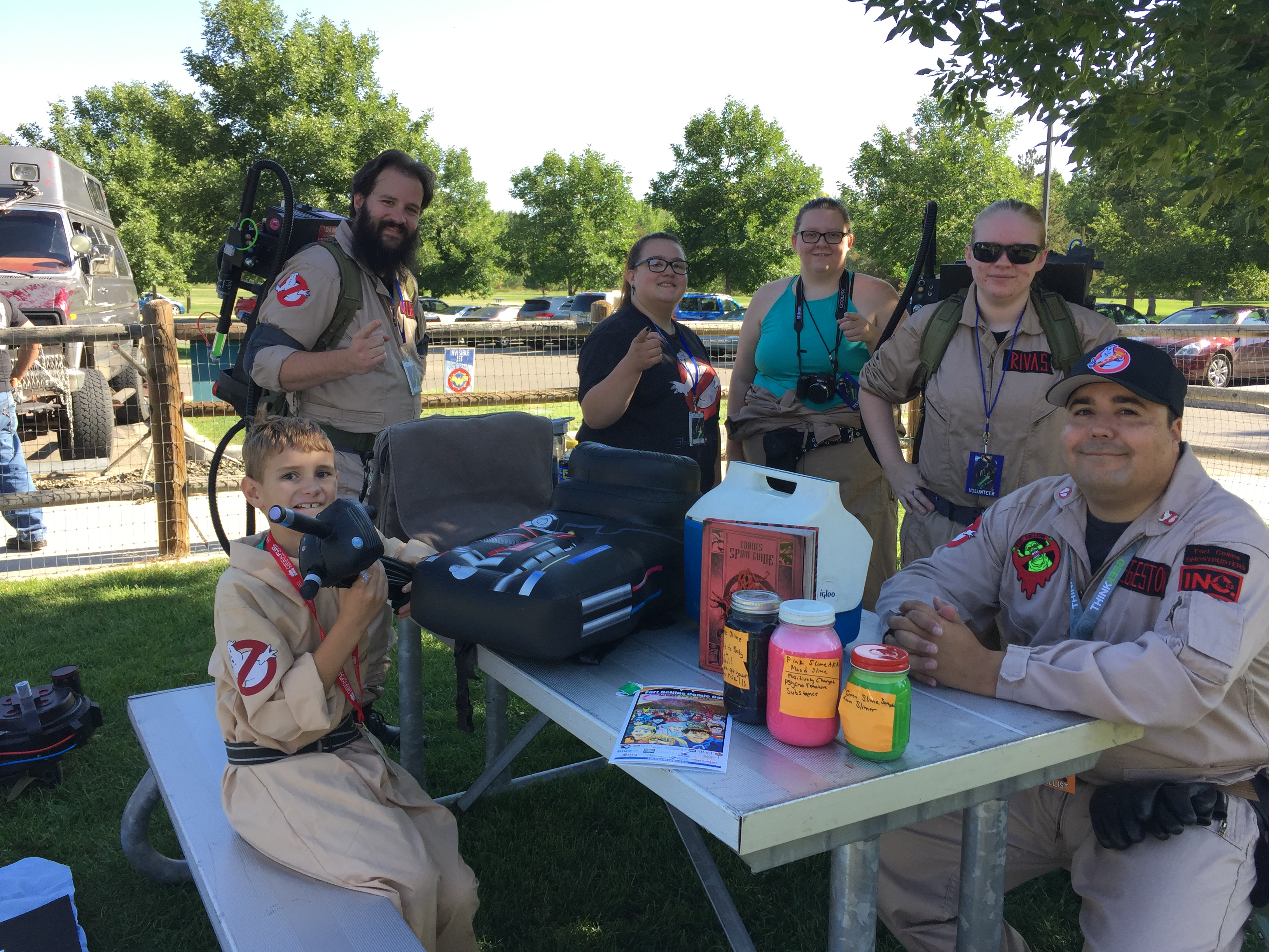 Ghostbusters from Loveland and Fort Collisn.