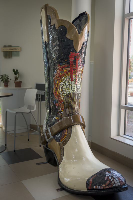 """""""Journey of the Soul"""" - one of the original """"Big Boots of Cheyenne"""""""