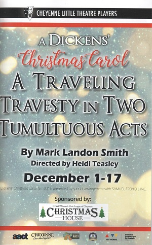 CLTP's program for Dickens' A Christmas Carol