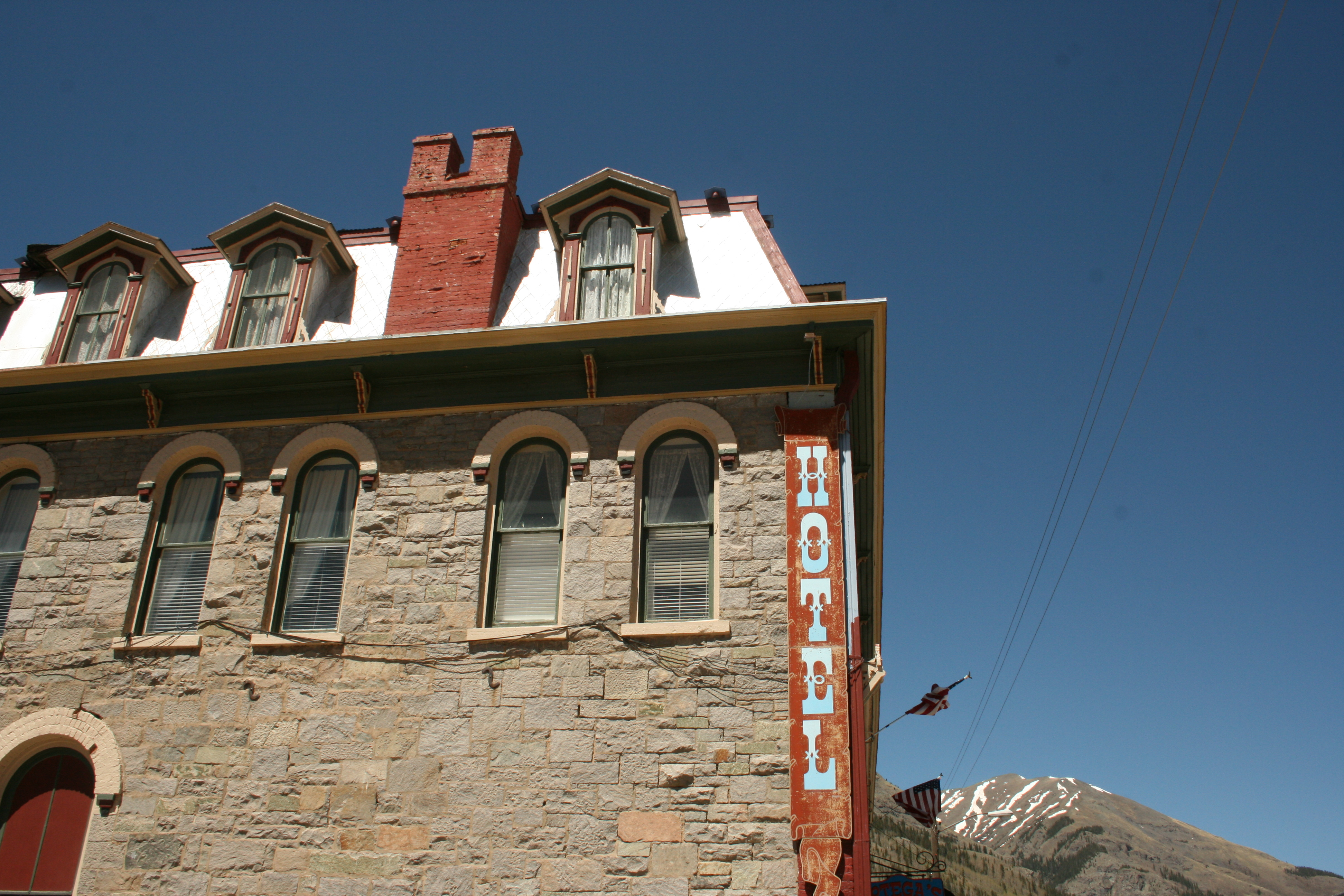 Historic Hotel Road Trip The Grand Imperial Hotel In Silverton